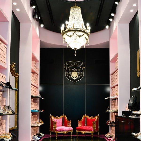 עיצוב סניף לפריטי בלרינה, קניון האופנה – גינדי TLV