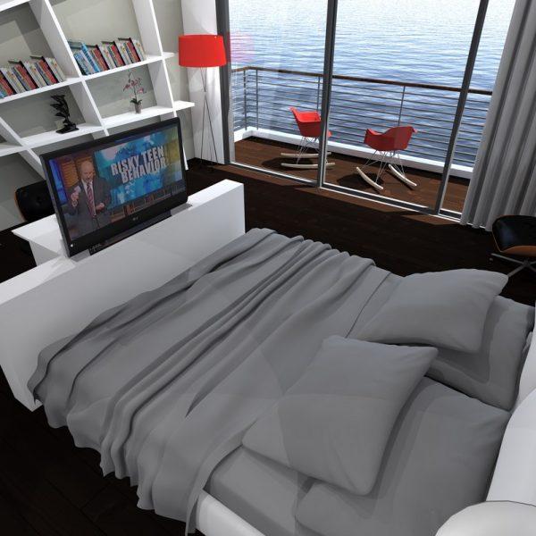 הצעה לתכנון חדר במלון עסקי