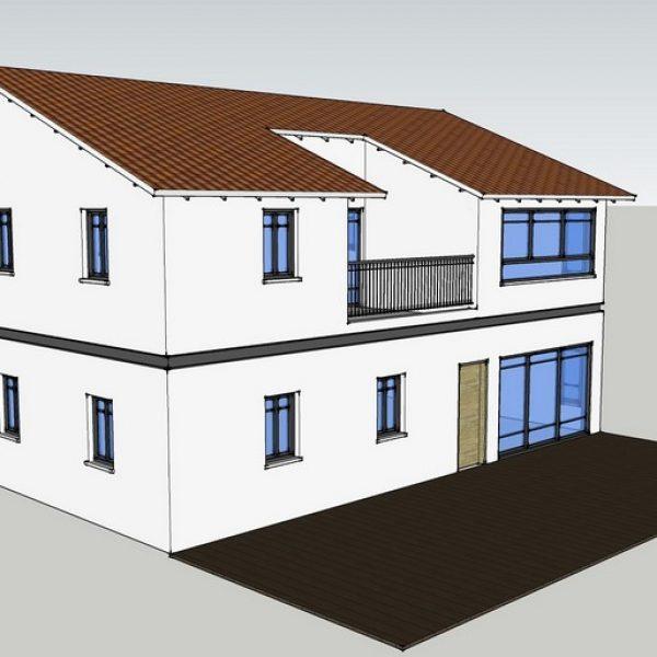בית פרטי דו קומתי בבניה קלה