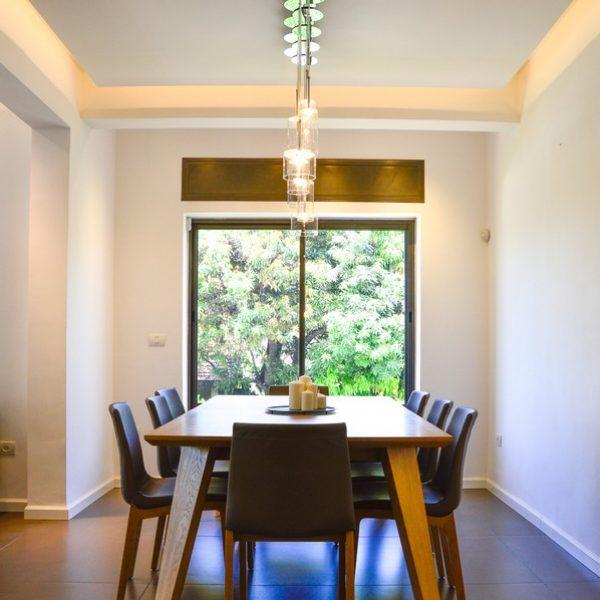 עיצוב דירת גן ברמת חן
